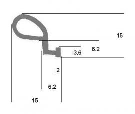 Aanslagrubber (RU-AA-635)