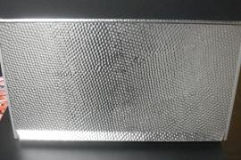 aluminium deurplaat voor BeGe cabine
