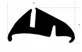 Raamrubber (RU-RA-1138)