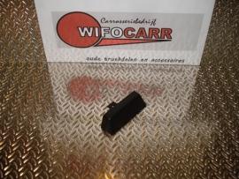 Eindstuk zwart (SI-EI-PVC-ZW-0003)