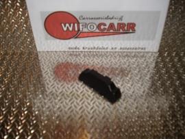 Eindstuk zwart (SI-EI-PVC-ZW-0002)