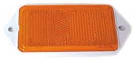 Schroefreflector rechthoekig Oranje (LA-RE-OR-7022)