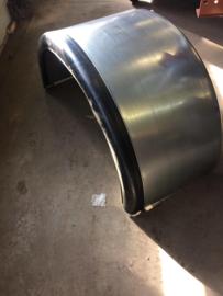 stalen spatscherm met rubber rand 65 breed