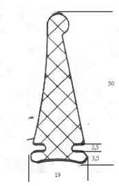 Aanslagrubber (RU-AA-403296)