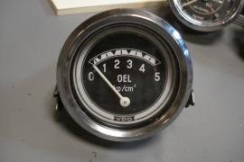 VDO oliedruk meter