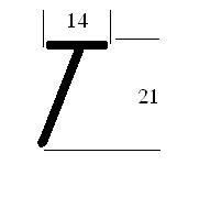 Afdichtrubber (RU-T-14x21)
