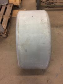 stalen spatscherm 490 mm breed spanwijdte plm 112