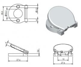 Sleutelplaat (DEBE-SLP-1051)