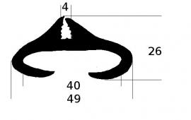 Raamrubber (RU-RA-0101)