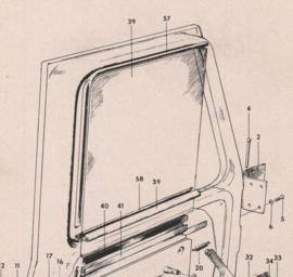 SC 167856 raamlooprubber