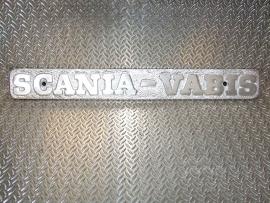 scania vabis  type plaat voor op laadbak