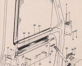 sc 167989 raamafdichting/ buitenzijde