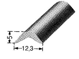 sierrubber inlegbies elfenbein ( SI-RU-ELB-440006)