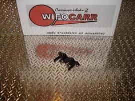Eindstuk zwart (SI-EI-PVC-ZW-0001)