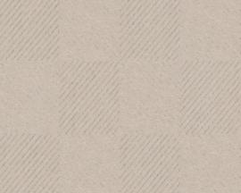 ASCreation Metropolitan 36926-2 Modern/Grafisch/Taupe Behang