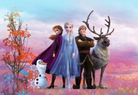 Noordwand/Komar Disney Edition4 Fotobehang Frozen Iconic 8-4103 Anna/Elsa/Sven Eland/Olaf