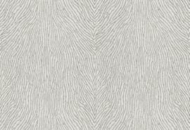 Hookedonwalls Karin Sajo 3 Behang KS 1203 Lames de Corail/Glassbeads/Glasparels/Dierenhuid/Chic
