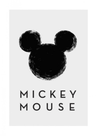 Komar/Disney Edition4 Poster/Affiche WB044 Mickey Mouse Silhouette/Kinderkamer Afbeelding