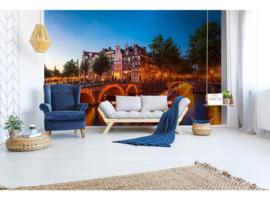 Dimex Fotobehang Amsterdam MS-5-0023 Huizen/Grachten/Steden