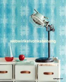 Eijffinger Stripes+  Behang 377083 Strepen/Abstract/Blauw/Groen
