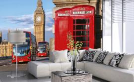 Dimex Fotobehang Big Ben MS-5-0018 Londen/Klok/Steden/Modern/Telefoon