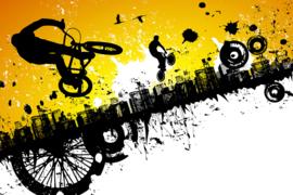 AS Creation Wallpaper 3 XXL Fotobehang 471343 BMX Riders/Sporten/Fiets/Bike