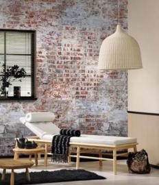 Behangexpresse Behang 23890  StenenVerweerde/Cement/Bakstenen Fotobehang