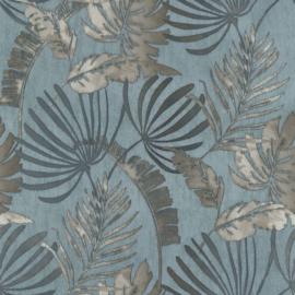 Noordwand Sejours & Chambres Behang 11191401 Botanisch/Natuurlijk/Bladeren/Jute Structuur