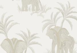 Hookedonwalls Exotique Behang 17301 Tembo/Dieren/Olifant