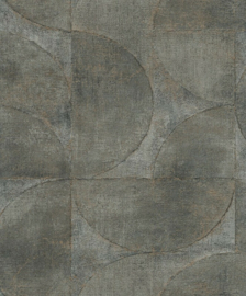 Noordwand Vintage Deluxe Behang 32821 Modern/Grafisch/Cirkel/Blok