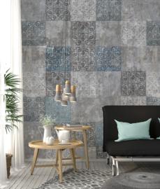 New Materials Fotobehang  INK7070 Marrakech/Oosters/Tegels - Behangexpresse