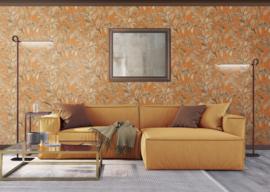 Dutch Wallcoverings Wallstitch Behang DE120019 Botanisch/Vogels/Natuurlijk/Glitter