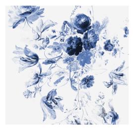 Kek Amsterdam WP 219 Royal Blue Flowers 3 WP 219 Behang Fotobehang  - Dutch Wallcoverings