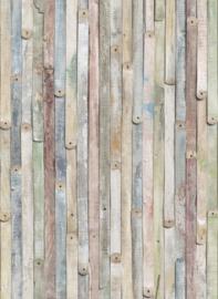 Komar Stories 4-910 Vintage Wood/Hout/Planken/Landelijk/Modern Fotobehang - Noordwand