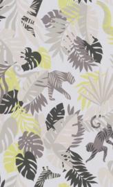 BN Wallcoverings #Smalltalk Behang 219301 Botanisch/Dieren