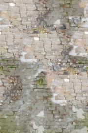 Verweerde baksteen INK7002 Fotobehang - Behangexpresse