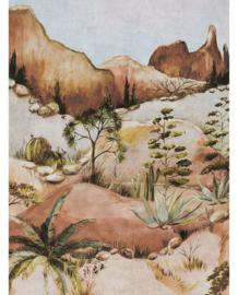 Eijffinger Terra Fotobehang 391565 Savanna Earth Tones/Landschap/Natuur