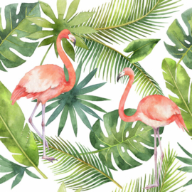 ASCreation Greenery Fotobehang DD116612 Botanisch/Tropical/Vogels/Flamingo 1 1