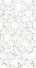 Esta Home Art Deco Fotobehang 158955 Hexagon/Marmer/Modern