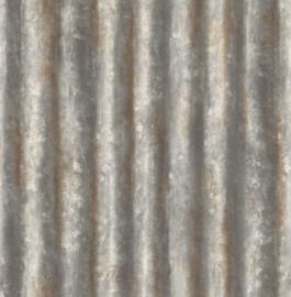 Dutch Wallcoverings Trilogy Behang FD22333 Metaal/Staal/Strepen