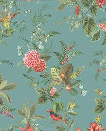 Eijffinger Pip Studio 5 Behang 300115 Bloemen/Vogels/Bladeren/Romantisch/Landelijk/Blauw