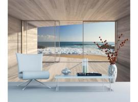 Dimex Fotobehang Large Bay Window MS-5-0042 Uitzicht/Zee