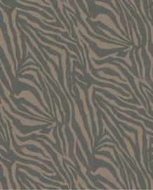 Eijffinger Skin Behang Fotobehang 300603 Zebra Mocha/Dieren/Huiden/Safari