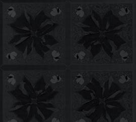 AS Creation Karl Lagerfeld Behang 37845-3 Kaleidoscope/Tegel/Bloem/Logo