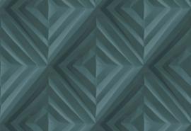 Hookedonwalls Paper Craft Behang 68011 Fold/Modern/Gevouwen/3D