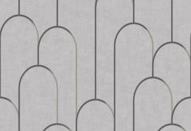 Hookedonwalls Moments Behang MO22834 Grafisch/Modern/Bogen