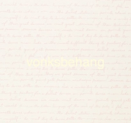 Eijffinger Hits4Kids Behang 351744 Tekst/Pastel/Kinderkamer/Roze