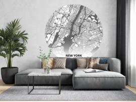 Noordwand Topchic 2021/2023 City Circles Behang New York/Steden/Regio/Luchtfoto