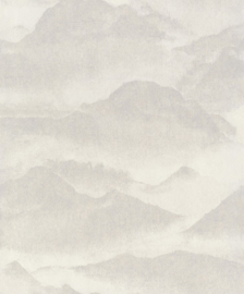 BN Wallcoverings/Voca Zen Behang 220310 Misty Mountain/Bergen/Mist/Landschap/Natuurlijk