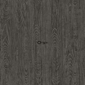Origin Matieres Wood Behang  348-347559 Hout/Modern/Grijs